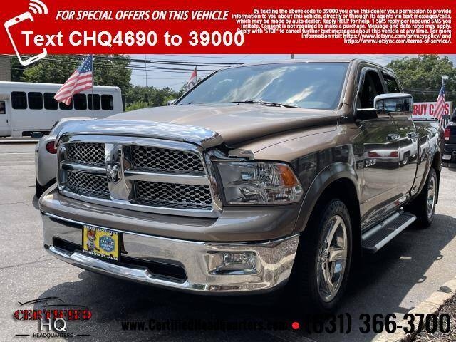 2010 Dodge Ram Pickup 1500 for sale at CERTIFIED HEADQUARTERS in Saint James NY