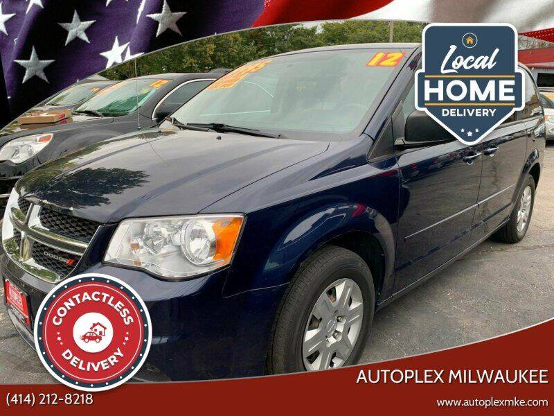 2012 Dodge Grand Caravan for sale at Autoplex 2 in Milwaukee WI