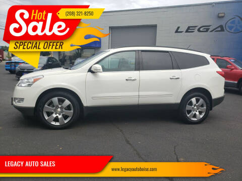 2011 Chevrolet Traverse for sale at LEGACY AUTO SALES in Boise ID