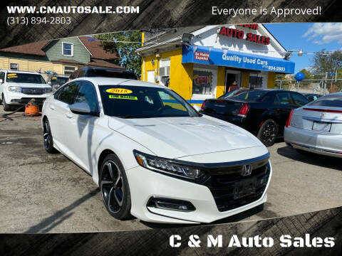 2018 Honda Accord for sale at C & M Auto Sales in Detroit MI