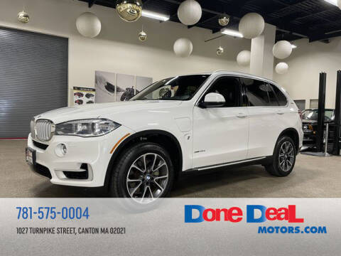 2017 BMW X5 for sale at DONE DEAL MOTORS in Canton MA