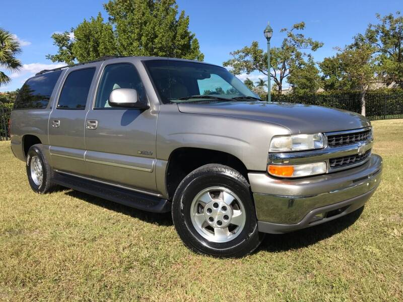 2001 Chevrolet Suburban for sale at Kaler Auto Sales in Wilton Manors FL