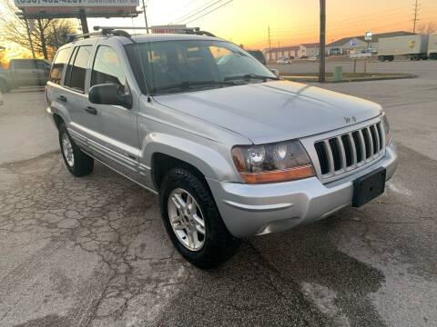 2004 Jeep Grand Cherokee for sale at STL Automotive Group in O'Fallon MO