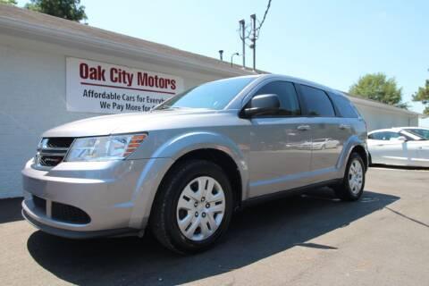 2015 Dodge Journey for sale at Oak City Motors in Garner NC