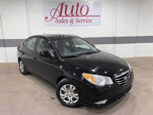 2010 Hyundai Elantra for sale at Auto Sales & Service Wholesale in Indianapolis IN