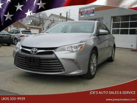 2016 Toyota Camry for sale at Joe's Auto Sales & Service in Cumberland RI