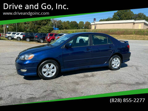 2006 Toyota Corolla for sale at Drive and Go, Inc. in Hickory NC