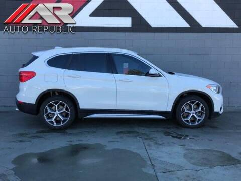 2018 BMW X1 for sale at Auto Republic Fullerton in Fullerton CA