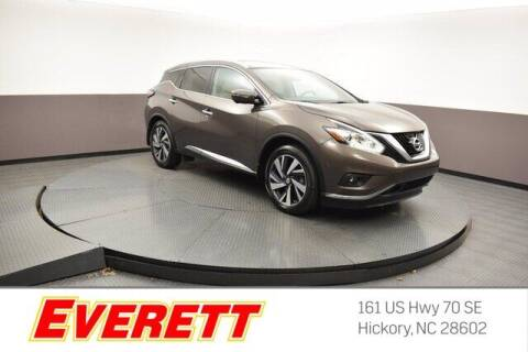 2015 Nissan Murano for sale at Everett Chevrolet Buick GMC in Hickory NC