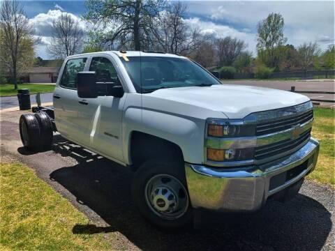 2015 Chevrolet Silverado 3500HD CC for sale at CarDen in Denver CO