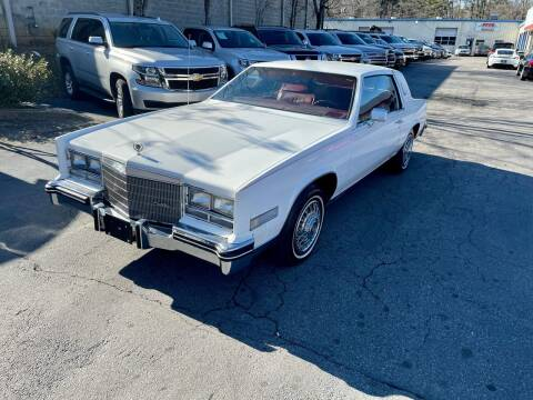 1985 Cadillac Eldorado for sale at Five Brothers Auto Sales in Roswell GA