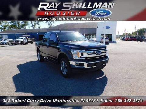 2019 Ford F-150 for sale at Ray Skillman Hoosier Ford in Martinsville IN
