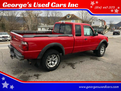 2001 Ford Ranger for sale at George's Used Cars Inc in Orbisonia PA