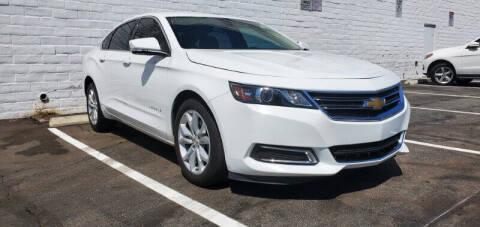 2017 Chevrolet Impala for sale at ADVANTAGE AUTO SALES INC in Bell CA