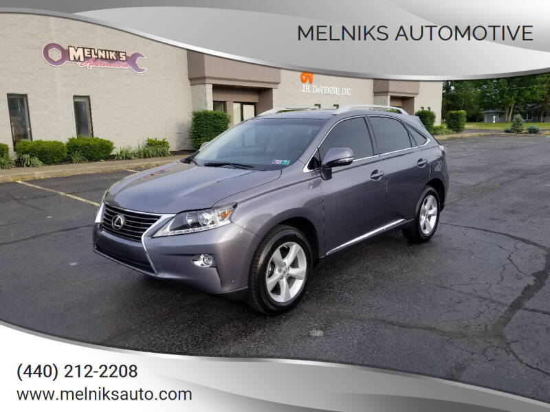 2015 Lexus RX 350 for sale at Melniks Automotive in Berea OH