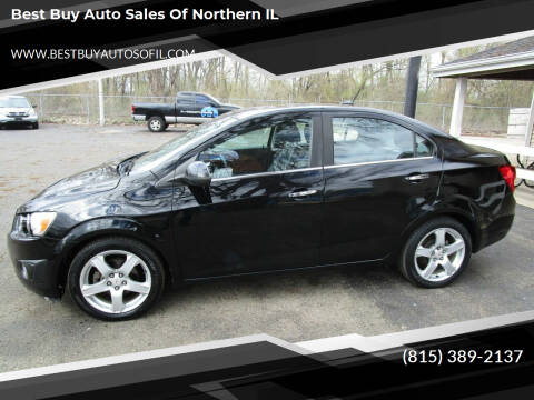 2012 Chevrolet Sonic for sale at Best Buy Auto Sales of Northern IL in South Beloit IL