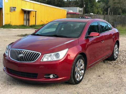 2013 Buick LaCrosse for sale at Preferable Auto LLC in Houston TX