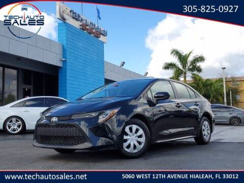 2020 Toyota Corolla for sale at Tech Auto Sales in Hialeah FL