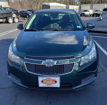 2014 Chevrolet Cruze for sale at Healey Auto in Rochester NH