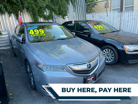 2015 Acura TLX for sale at Best Cars R Us LLC in Irvington NJ