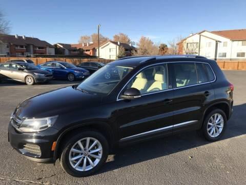 2017 Volkswagen Tiguan for sale at INVICTUS MOTOR COMPANY in West Valley City UT