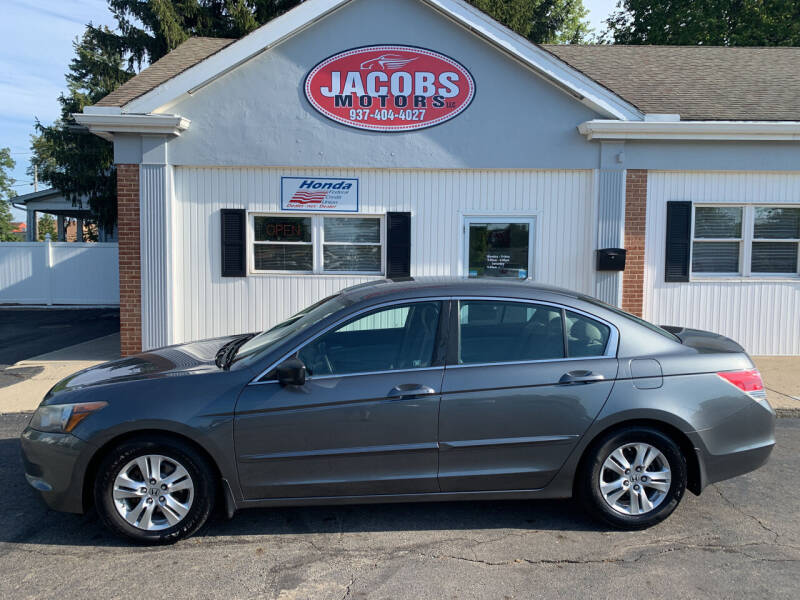 2010 Honda Accord for sale at Jacobs Motors LLC in Bellefontaine OH