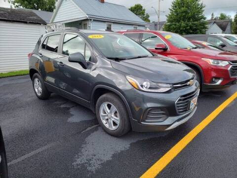 2018 Chevrolet Trax for sale at Frenchie's Chevrolet and Selects in Massena NY