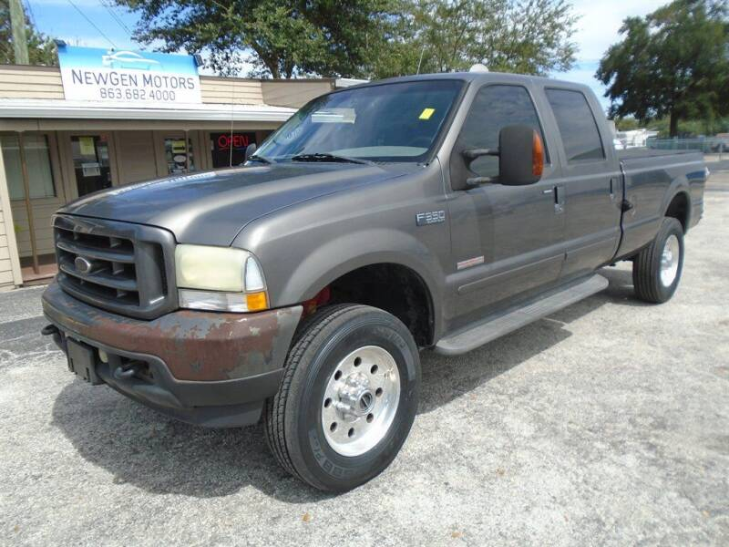 2004 Ford F-350 Super Duty for sale at New Gen Motors in Lakeland FL