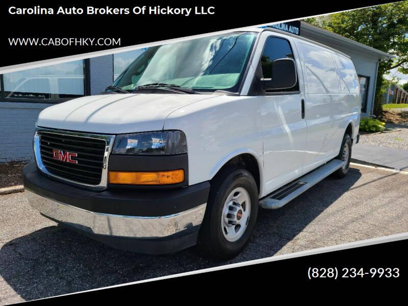 2017 GMC Savana Cargo for sale at Carolina Auto Brokers of Hickory LLC in Newton NC