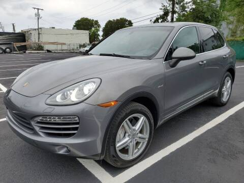 2013 Porsche Cayenne for sale at Eden Cars Inc in Hollywood FL