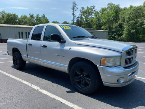 2004 Dodge Ram Pickup 1500 for sale at B & M Car Co in Conroe TX