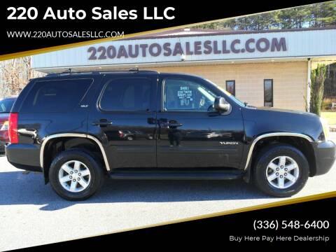 2012 GMC Yukon for sale at 220 Auto Sales LLC in Madison NC