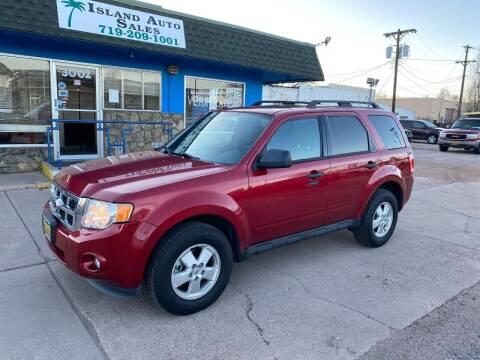 2012 Ford Escape for sale at Island Auto Sales in Colorado Springs CO