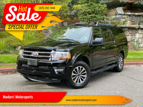 2016 Ford Expedition EL for sale at Mudarri Motorsports in Kirkland WA