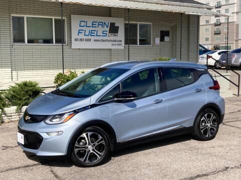 2017 Chevrolet Bolt EV for sale at Clean Fuels Utah in Orem UT