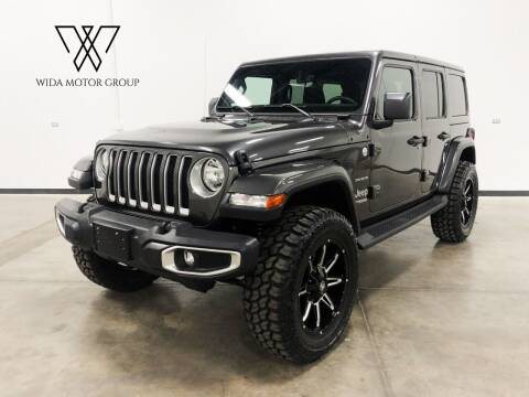 2018 Jeep Wrangler Unlimited for sale at Wida Motor Group in Bolingbrook IL