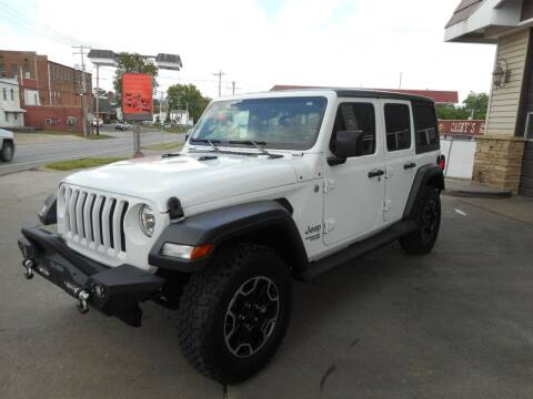 2018 Jeep Wrangler Unlimited for sale at River City Auto Center LLC in Chester IL