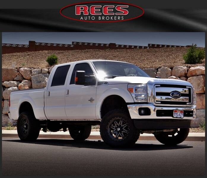 2015 Ford F-350 Super Duty for sale at REES AUTO BROKERS in Washington UT