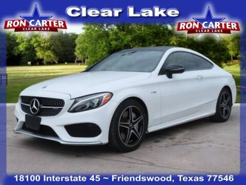 2018 Mercedes-Benz C-Class for sale at Ron Carter  Clear Lake Used Cars in Houston TX