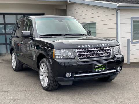 2011 Land Rover Range Rover for sale at Lux Motors in Tacoma WA