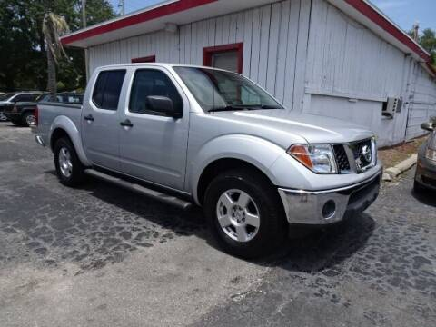 2008 Nissan Frontier for sale at DONNY MILLS AUTO SALES in Largo FL