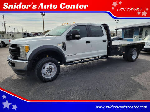 2017 Ford F-450 Super Duty for sale at Snider's Auto Center in Titusville FL