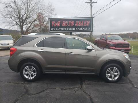 2012 Chevrolet Equinox for sale at T & G Auto Sales in Florence AL