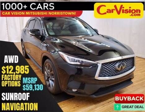 2019 Infiniti QX50 for sale at Car Vision Buying Center in Norristown PA