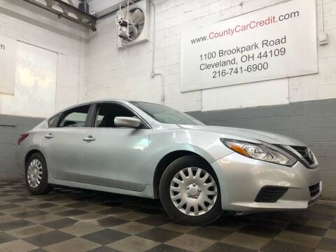 2017 Nissan Altima for sale at County Car Credit in Cleveland OH
