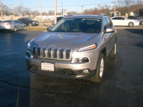 2018 Jeep Cherokee for sale at Windsor Auto Sales in Loves Park IL
