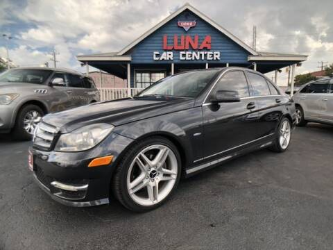 2012 Mercedes-Benz C-Class for sale at LUNA CAR CENTER in San Antonio TX