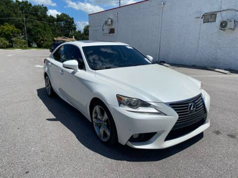 2014 Lexus IS 350 for sale at LUXURY AUTO MALL in Tampa FL