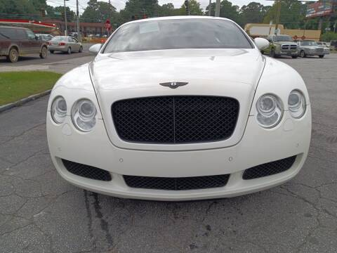 2007 Bentley Continental for sale at Atlanta Fine Cars in Jonesboro GA