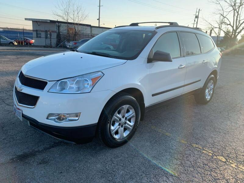 2012 Chevrolet Traverse for sale at Eddie's Auto Sales in Jeffersonville IN